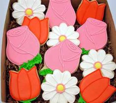 Flour Box Bakery — Roses, Daisies and Tulips