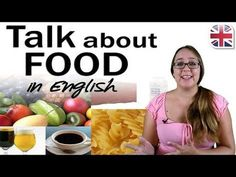 In this lesson, you can learn about how to talk about food and cooking using clear, natural English. Learn useful vocabulary to talk about food in English. English Talk, Learn English, Oxford Online English, Free English Lessons, Listen And Speak, Negative Words, Cue Cards, Conversational English, How To Pronounce