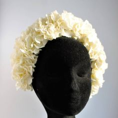 Floral Crown, Ivory, Trending Outfits, Unique Jewelry, Awesome, Handmade Gifts, Etsy, Vintage, Design