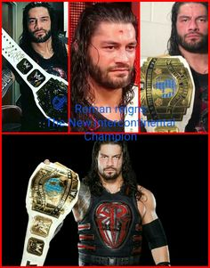 Roman Reigns is the new intercontinental champion and so proud of him 😘😘👏😍😍