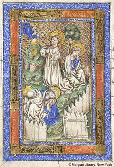 Book of Hours, MS M.866 fol. 63v - Images from Medieval and Renaissance Manuscripts - The Morgan Library & Museum