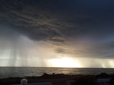 Rainstorm on the Ionian Sea