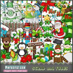 FREEBIE - Christmas Time Kit (PU) - Full size and Tagger size - HAPPY HOLIDAYS TO ALL OF YOU !  Hugs, ZaZa