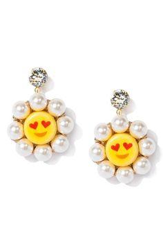 Venessa Arizaga So In Love Drop Earrings available at #Nordstrom