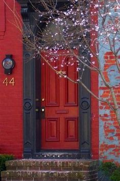 My house is going to have a red door so our friends and family will never get lost:)