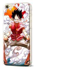 Coque étui téléphone guerriers de pirates Pour iPhone 7 Plus Diy One Piece
