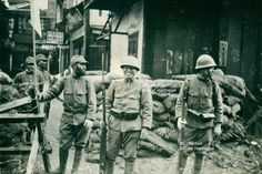 November 1937 Japanese have occupied Nanpao. Japanese History, Ww2 Photos, Local Photographers, German Language, Shanghai, World War, Philippines, Battle, November 12th