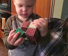 DIY Magnetic Minecraft Blocks
