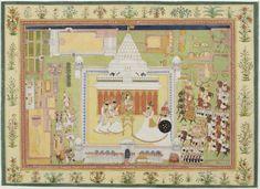 Philadelphia Museum of Art - Collections Object : Maharaja Man Singh of Jodhpur Visits the Mahamandir