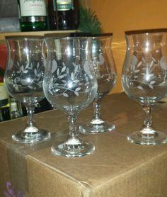 Princess House Beverage glasses Set of 4 New!.d
