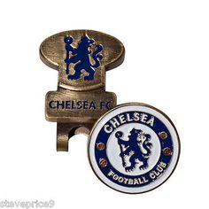 #Chelsea fc hat / #visor / cap clip and golf ball #marker,  View more on the LINK: http://www.zeppy.io/product/gb/2/361673779809/