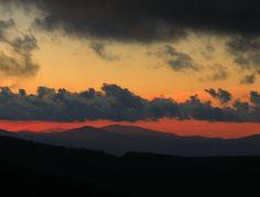 Sunset from Beech Mtn, NC
