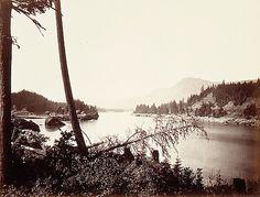View on the Columbia, Cascades Carleton E. Watkins (American, 1829–1916)