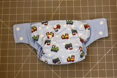 cloth diaper tutorial with measurement for your own newborn, small, medium and large pattern