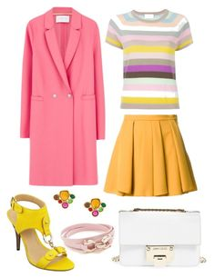 """""""Untitled #520"""" by rubysparks90 on Polyvore featuring Allude, Guild Prime, Harris Wharf London, Nine West, Jimmy Choo, Emanuel Ungaro and Salvatore Ferragamo"""