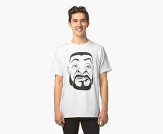 The lovely #smile of #Koksmann #Classic T-Shirts von #pASob-dESIGN   #Redbubble https://www.redbubble.com/de/people/pasob-design/works/20357384-the-lovely-smile-of-koksmann?grid_pos=9&p=classic-tee