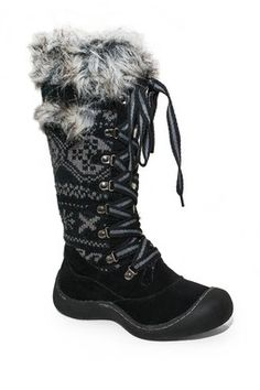 Gwen Tall Lace-Up Snow Boot
