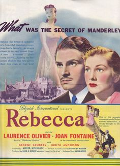 a traditional fairytale in alfred hitchcokcs film rebecca The 1940 film version of daphne du maurier's best-selling novel, rebecca, marked director alfred hitchcock's first american film, and the third phase of his lengthy career: after the british silents and sound films, rebecca inaugurated the director's selznick period, from 1940-1947.