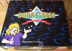 NEW sealed THE DOONESBURY GAME retro board game  #DOONESBURY