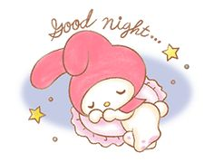 My Melody Sanrio, Hello Kitty My Melody, My Melody Wallpaper, Strawberry Moons, Cute Bunny Cartoon, Best Filters For Instagram, Sweet Stories, Have A Good Night, Good Night Quotes