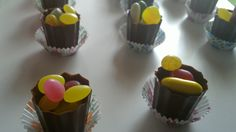 Edible Wedding and Party Favours - Chocolate Cups filled with sweets