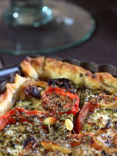 Tarta de calabacín, tomate, cebolla mostaza - Shachu & # s Kitchen Easy Smoothie Recipes, Easy Smoothies, Good Healthy Recipes, Healthy Snacks, Healthy Smoothie, Pizza Recipes, Veggie Recipes, Snack Recipes, Cooking Recipes