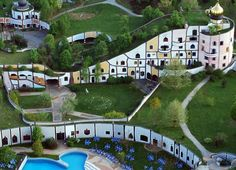 Le terme del mondo delle meraviglie di Hundertwasser