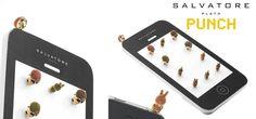 Pincha tu móvil con uno de nuestros PUNCH. Diseños realizados en metal, esmalte de colores y baños en oro para que los pongas en el auricular de tu móvil. Piezas muy originales y de precios rompedores en forma de calaveritas y conejitos.