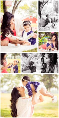 Tash & Baby  | Lifestyle Session | © The Linguaphile's Lens 2016 | More shots from the stylized retro picnic themed session for put together at the request of Tash and her adorable little one. #LifestylePhotography #FamilyPhotography #BabyPhotography #YYC #Calgary