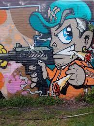 Bildergebnis für graffiti character old school new york