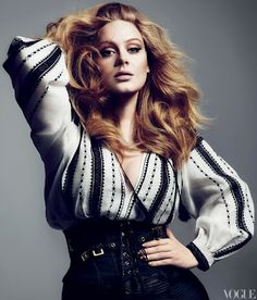 Adele magra