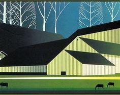 American Barns - Eyvind Earle