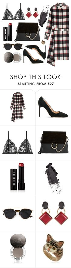 """""""wish list"""" by braincontortion ❤ liked on Polyvore featuring 3.1 Phillip Lim, Manolo Blahnik, Alexander McQueen, Chloé, Bobbi Brown Cosmetics, Christian Dior, Marni, Chantecaille and Nach"""