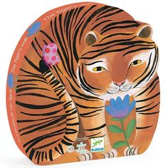 Tiger Walk 24 Piece Puzzle Djeco Children- A large selection of Toys and Hobbies on Smallable, the Family Concept Store - More than 600 brands. Puzzle Djeco, Puzzle Toys, Tiger Silhouette, Tiger Walking, Indoor Play, Electronic Gifts, Educational Games, Puzzle Pieces, Puzzle