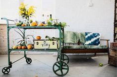 By Douglas Calhoun, Zillow Now that spring is here,celebrate the warm weather vibes by setting up one ofthese must-have room finishers: a stunning bar cart.  He is a lover of all things interior design and his blog is driven to create dynamic editorial content celebrating queer impact in everyday objects, people, and interiors.