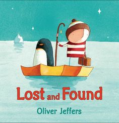 What is a boy to do when a lost penguin shows up at his door? Find out where it comes from, of course, and return it. But the journey to the South Pole is long and difficult in the boy's rowboat. There are storms to brave and deep, dark nights.To pass the time, the boy tells the penguin stories. Finally, they arrive. Yet instead of being happy, both are sad. That's when the boy realizes: The penguin hadn't been lost, it had merely been lonely.