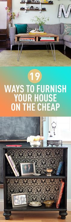 19 Ways To Furnish Your House On The Cheap