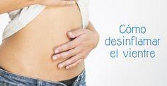 Descubre cuáles son las causas más habituales de la hinchazón abdominal y apunta varios remedios caseros para combatirla.