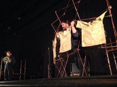 """Imagen del espectáculo de teatro escolar para estudiantes de literatura de secundaria """"Don Quijote de la Mancha"""" (ESO y Bachillerato)"""