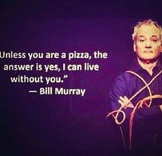 Moral of the story, pizza is the love of your life. Wait what?! Haha. Do not let the influence of others solely be your motivation for pushing on. You are your own kind of person.  You are strong. Good luck.