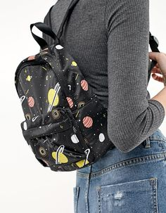 At Stradivarius you'll find 1 Planet mini backpack for just 59.9 Romania . Visit now to discover this and more Bags.