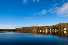 Shadow Lake in Concord, Vermont - Photo by Corey Hendrickson. I grew up right on this lake!