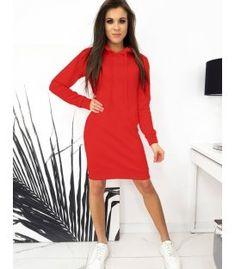Červené blúzkové šaty Garnet Dresses, Fashion, Vestidos, Moda, Fashion Styles, Dress, Fashion Illustrations, Gown, Outfits