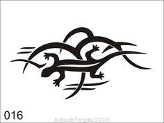 Airbrush tattoo stencil V016 Airbrush Tattoo, Tattoo Stencils, Tattoos, Design, Cape Clothing, Temporary Tattoo, Stencil, Adhesive, Patterns