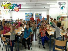 Spain school class for jumpingclay
