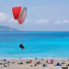 I want to fly away ... Myrtos beach, Greece #greece