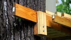 Treehouse attachment