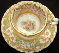 This is my dream tea cup and saucer.
