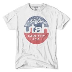 Celebrate the great ski and snow state of Utah with this T-shirt.
