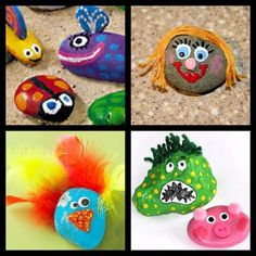 "pet rocks-Luke 19:40 New International Version (NIV) 40 ""I tell you,"" he replied, ""if they keep quiet, the stones will cry out.""-Kids can decorate their own pet rock to remind them if we dont spread Gods word that the Rocks will cry out!"